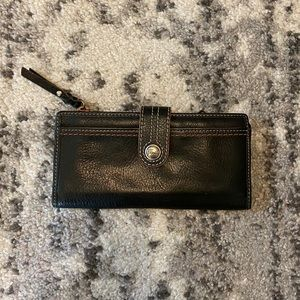 Fossil Brown Pebble Leather Wallet